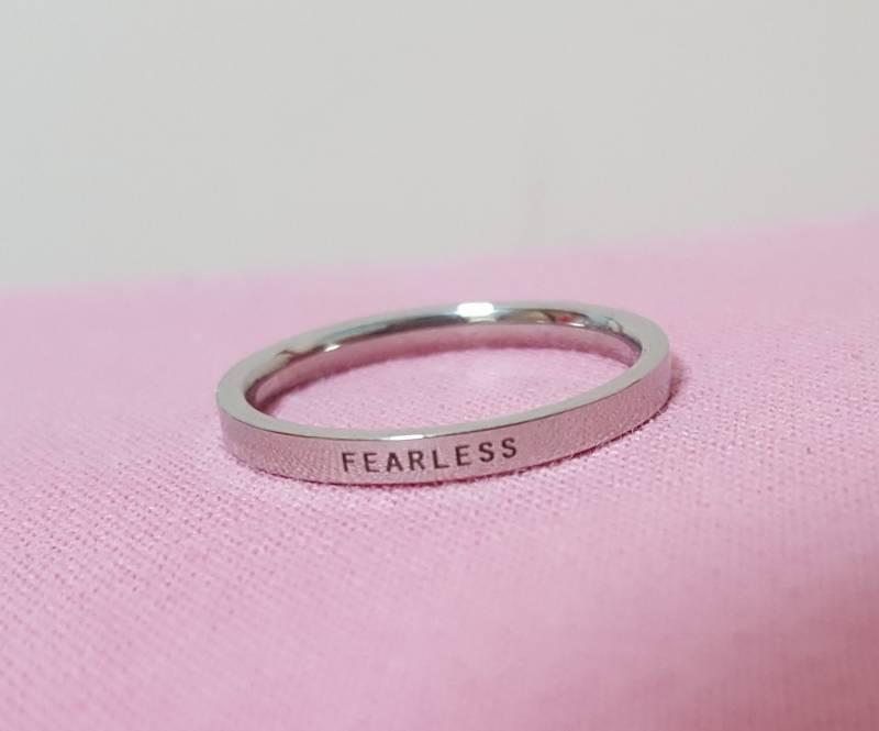 엑소) 백현 fearless 각인반지(큥반지)공동구매 수량조사 | 인스티즈