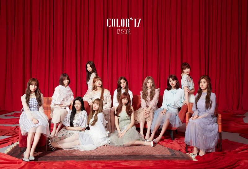 🌹29일(월), IZ*ONE 1st Mini Album [COLOR*IZ] La Vie en Rose 데뷔🌹 | 인스티즈