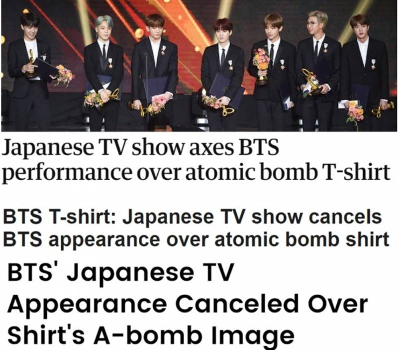 BBC·로이터까지..외신들, BTS 티셔츠 꼬투리 日 행태 주목 | 인스티즈