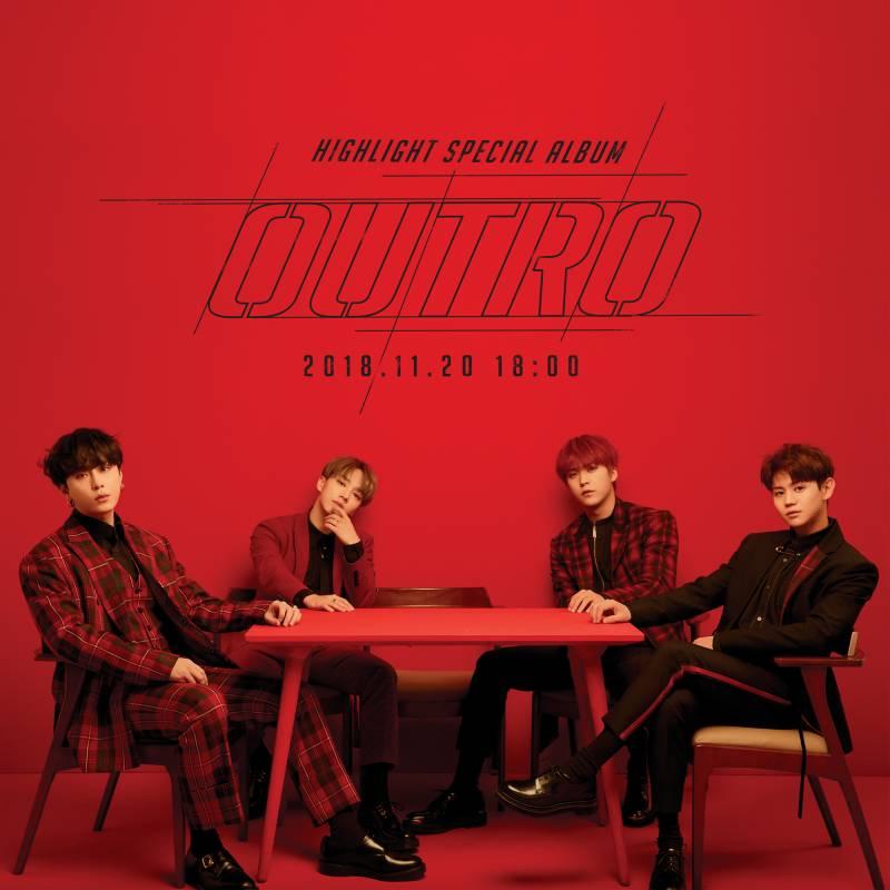 20일(화), 하이라이트 스페셜앨범 'Outro' 발매 | 인스티즈