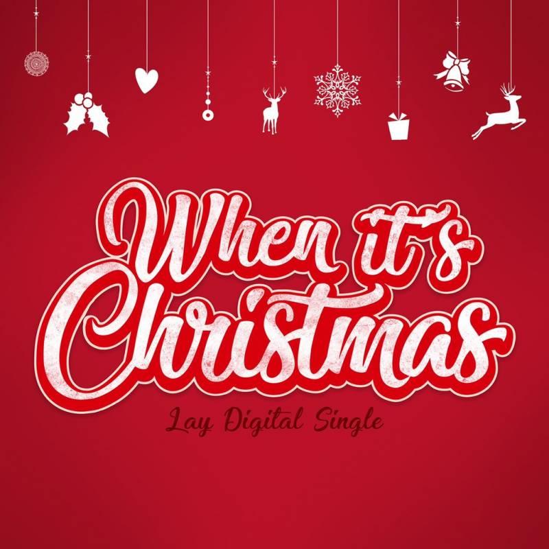 24일(월), 💗EXO 레이 크리스마스 싱글 'When It's Christmas' 음원 공개💗 | 인스티즈