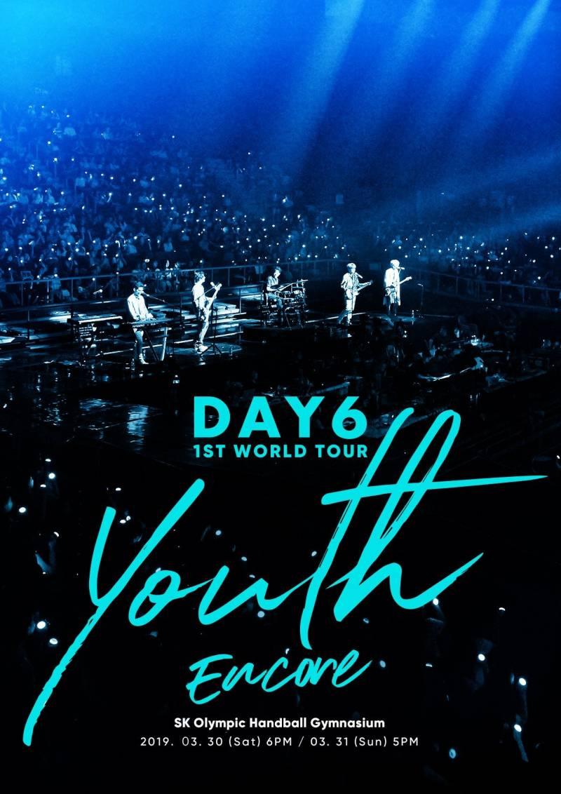 30일(토), 31일(일) DAY6 1ST WORLD TOUR 'Youth' [Encore] | 인스티즈