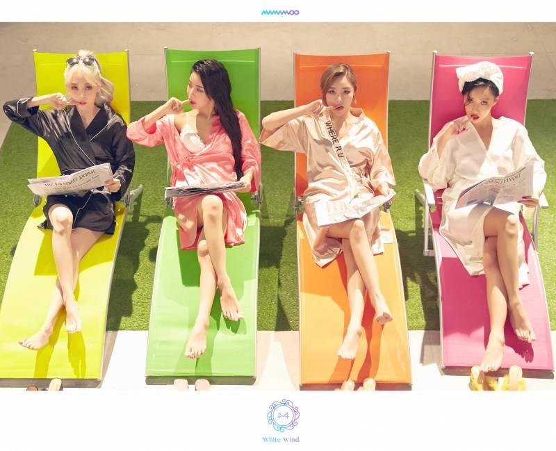 14일(목), 💛💚마마무 화이트앨범 발매🧡💖 | 인스티즈