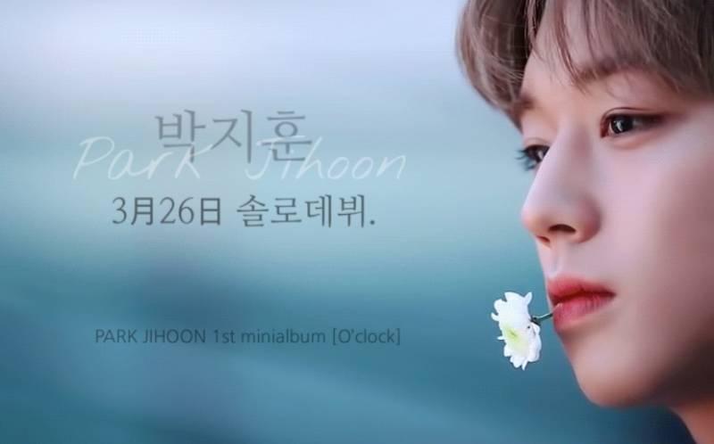 25일(월), 박지훈 첫 번째 앨범 O'CLOCK 타이틀 곡 가사 공개♥ | 인스티즈