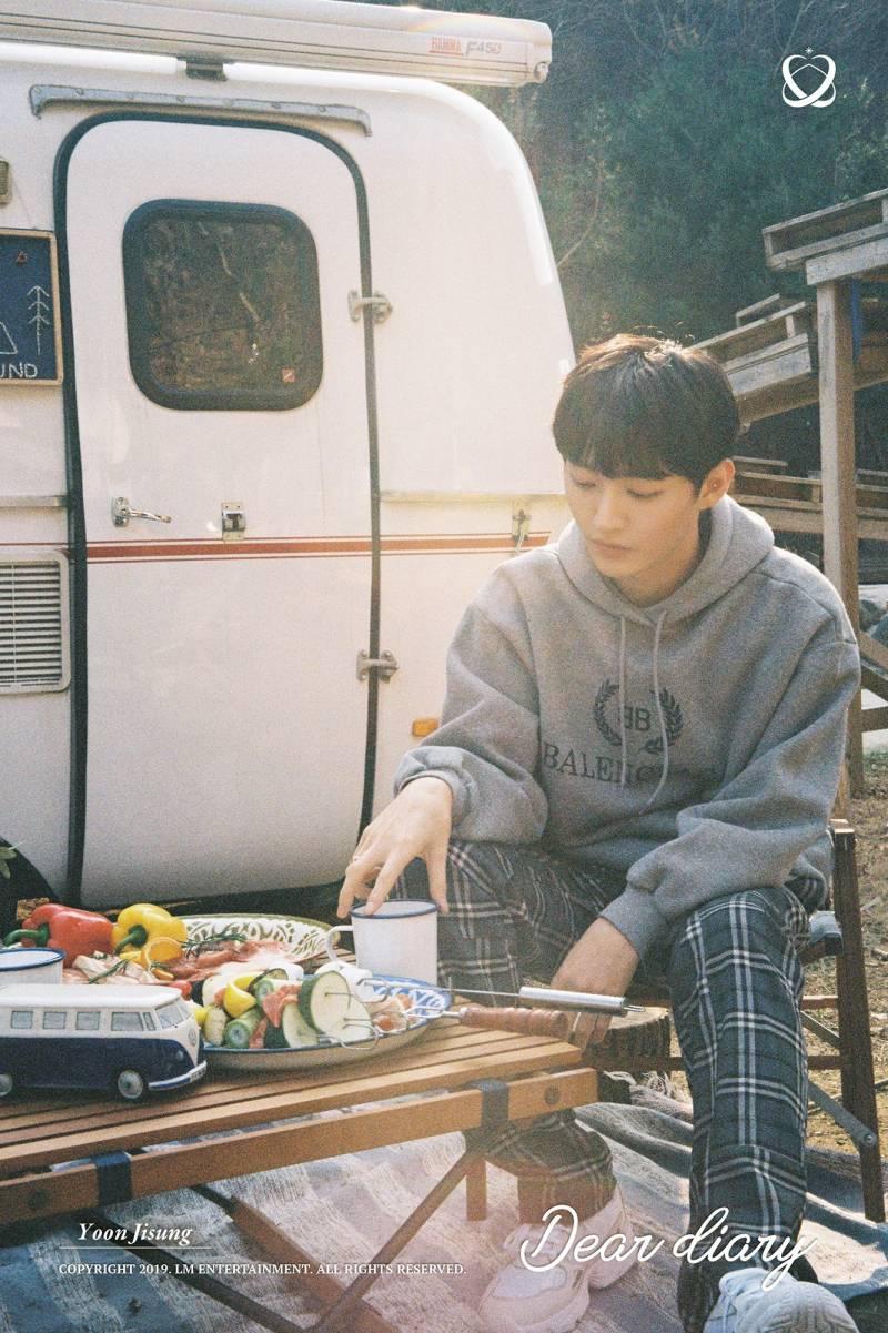 25일(목), 윤지성 Dear Diary 발매🍡🍚🍡 | 인스티즈