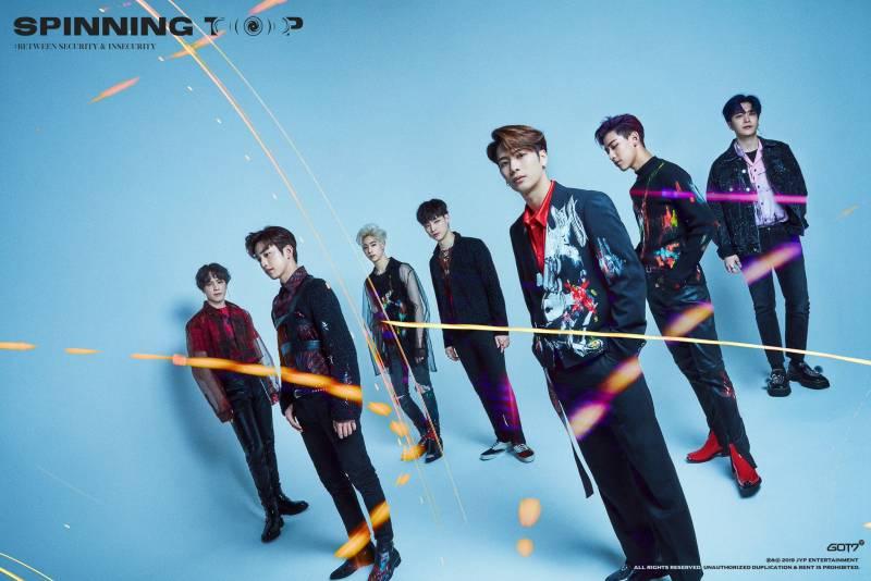20일(월), 💚갓세븐 <SPINNING TOP : BETWEEN SECURITY & INSECURITY> 발매💚 | 인스티즈