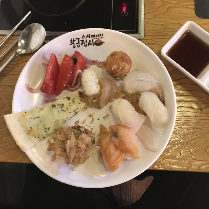 스시뷔페 혼밥 했다4040 | 인스티즈