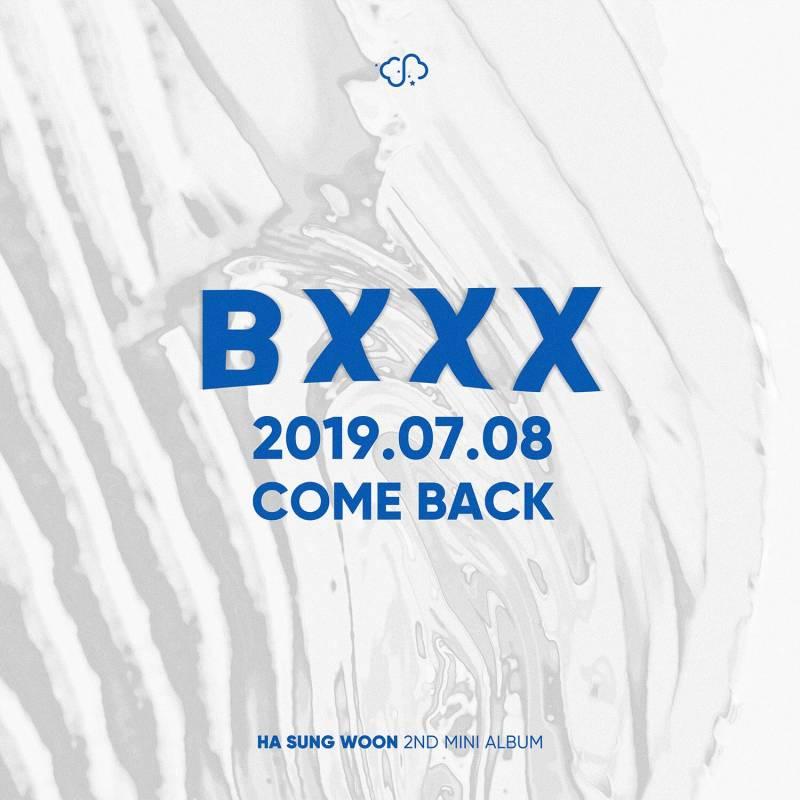 8일(월), 하성운 2ND MINI ALBUM [BXXX] 발매💜💙💛 | 인스티즈