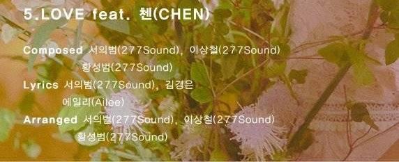 2일(화), ❤EXO 엑소 첸⚡에일리 피처링 <LOVE> 공개❤ | 인스티즈