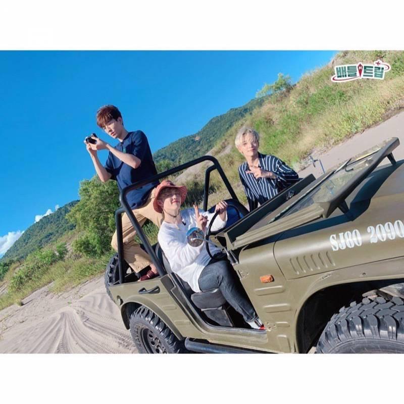 29일(토), 오후 9시15분 KBS2 배틀트립 세븐틴 에스쿱스 정한 원우 출연💖💙   인스티즈