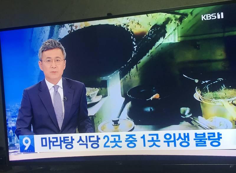 🚨🚨🚨마라탕 위생 최악이야 방금 9시 뉴스에 나옴🚨🚨🚨   인스티즈