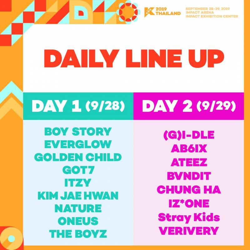 28일(토), KCON THAILAND 골든차일드🎳 | 인스티즈
