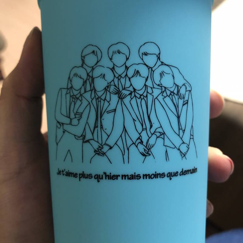 방탄소년단) 리유저블컵 배송 시작💜😊❗️ | 인스티즈
