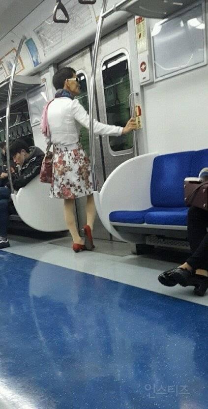 강한자들만 살아남는 1호선..ㄷㄷ.jpg | 인스티즈