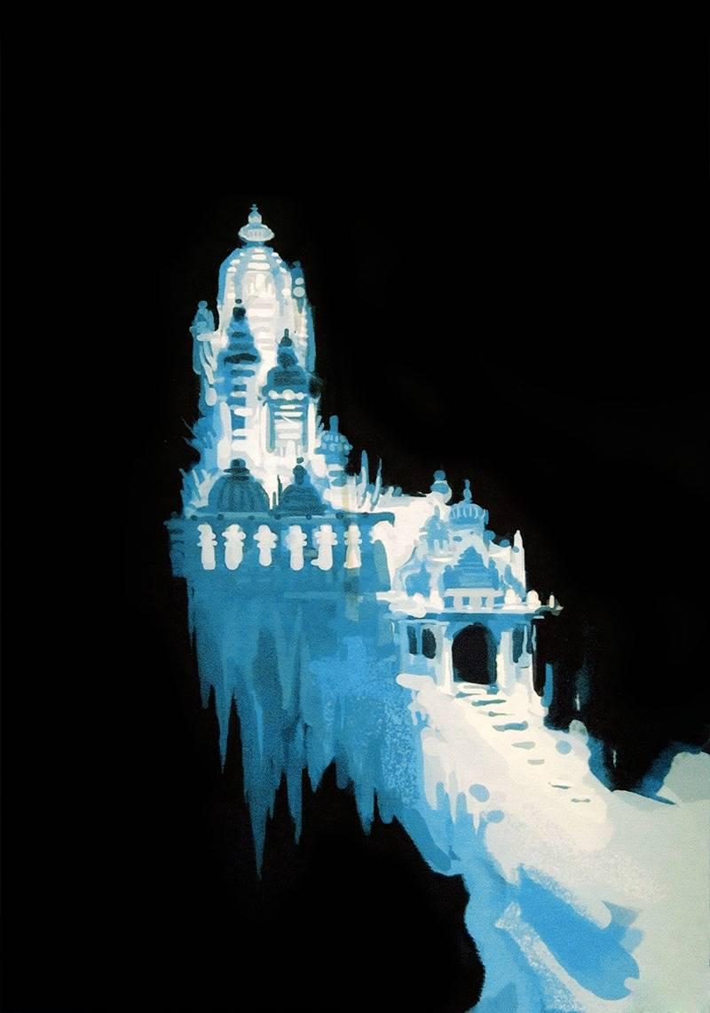 겨울왕국 엘사 얼음성으로 나올뻔한 원래 디자인 | 인스티즈