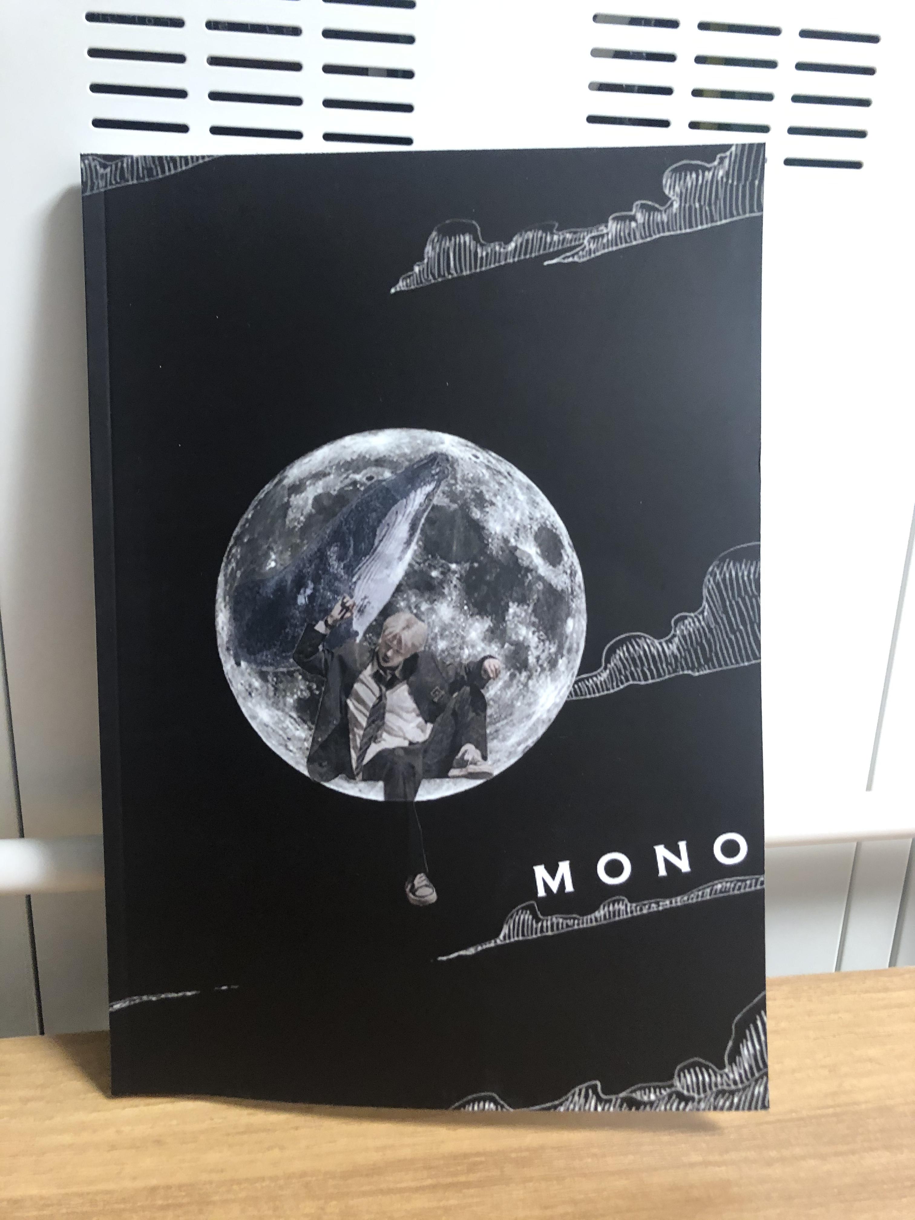 방탄소년단) 모노북 샘플북 왔습니다!!! | 인스티즈
