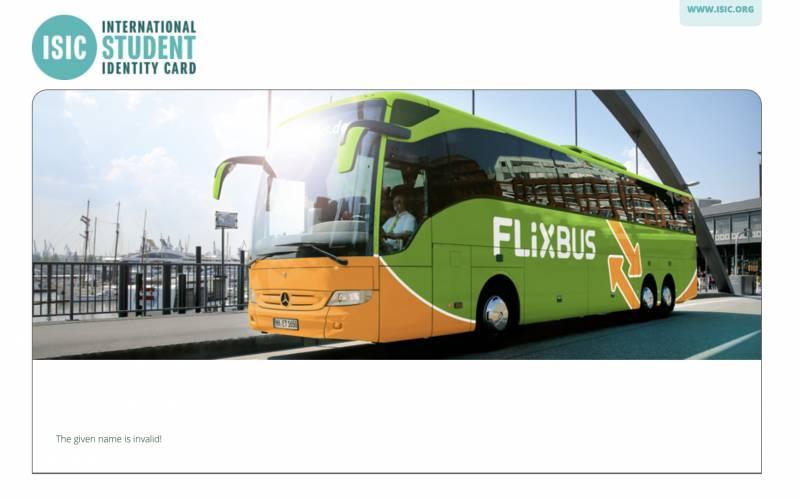 혹시 플릭스 버스 국제학생증으로 할인 받아 본 사람..? | 인스티즈