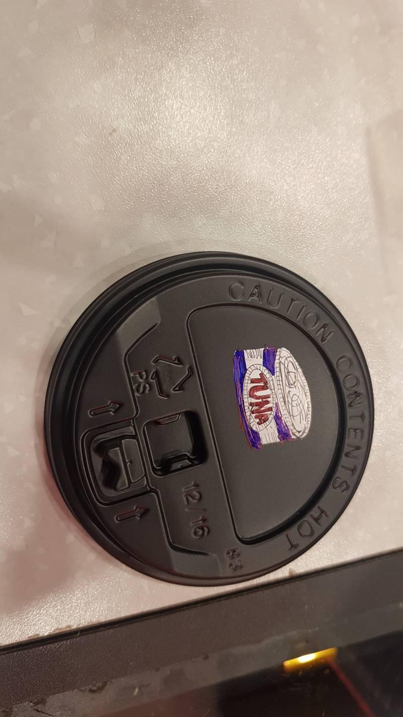 카페알바익 컵뚜껑에 그림그렸는데 이거 뜬끔없니??ㅋㅋㅋㅋ40 | 인스티즈