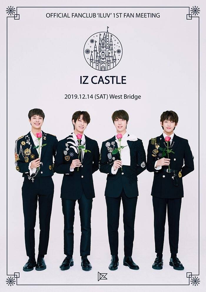 14일(토), 아이즈(IZ)공식 팬클럽 아이럽(ILUV)1st FANMEETING IZ CASTLE〉   인스티즈