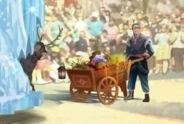 디즈니랜드 퍼레이드에 합류하게된 겨울왕국논란 | 인스티즈