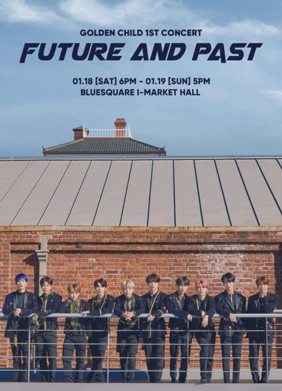 18일(토), 🎳 골든차일드 1st CONCERT <FUTURE AND PAST>🎳 | 인스티즈