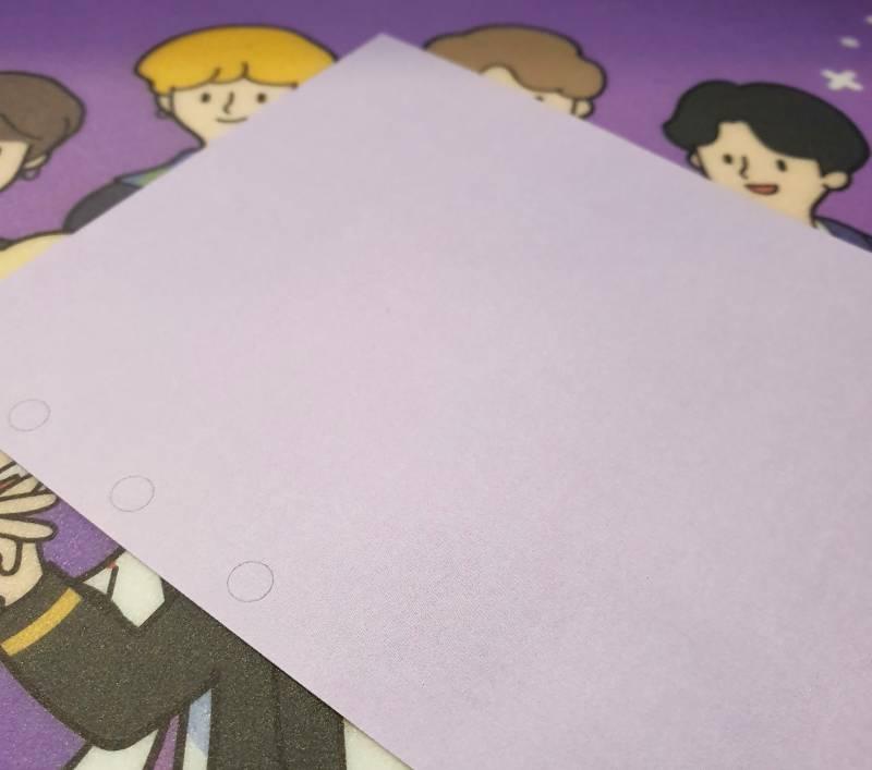 방탄소년단) 📖시즌그리팅 다이어리 속지 실사, 배송(완료), 재고 판매 공지💜 | 인스티즈