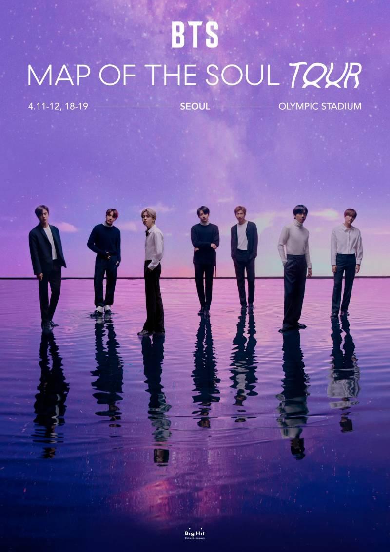 19일(일), 방탄소년단💜 MAP OF THE SOUL TOUR in SEOUL D+4 | 인스티즈
