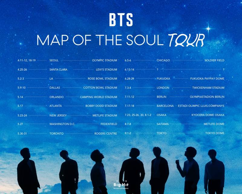 23일(토), 방탄소년단💜 MAP OF THE SOUL TOUR in NEW JERSEY D+1 | 인스티즈