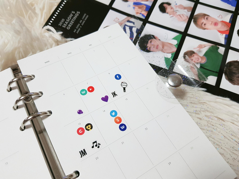 방탄소년단) 다이어리 투명스티커 시즌2 사전조사+특전 안내 | 인스티즈