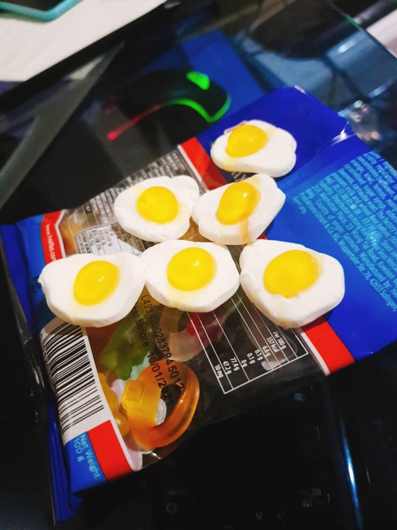 하리보 스타믹스 계란후라이 갯수 바뀌었나?? | 인스티즈