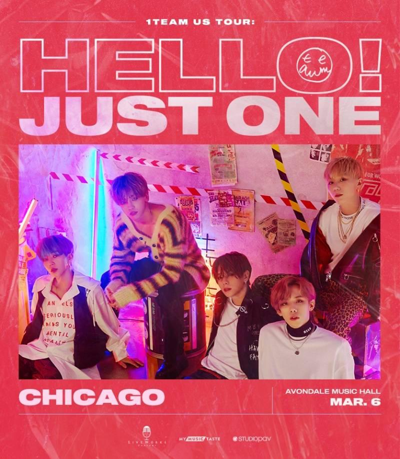 6일(금), 1️⃣ 1TEAM(원팀) US TOUR - Chicago | 인스티즈