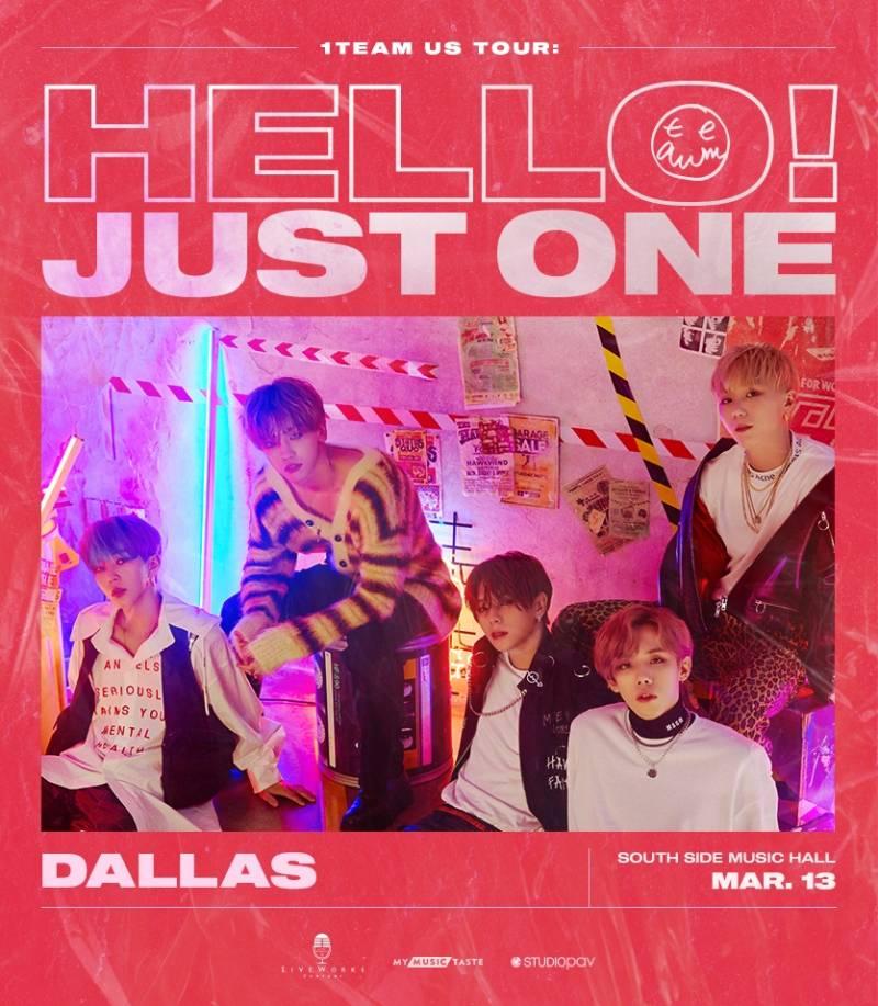 13일(금), 1️⃣ 1TEAM(원팀) US TOUR - Dallas | 인스티즈