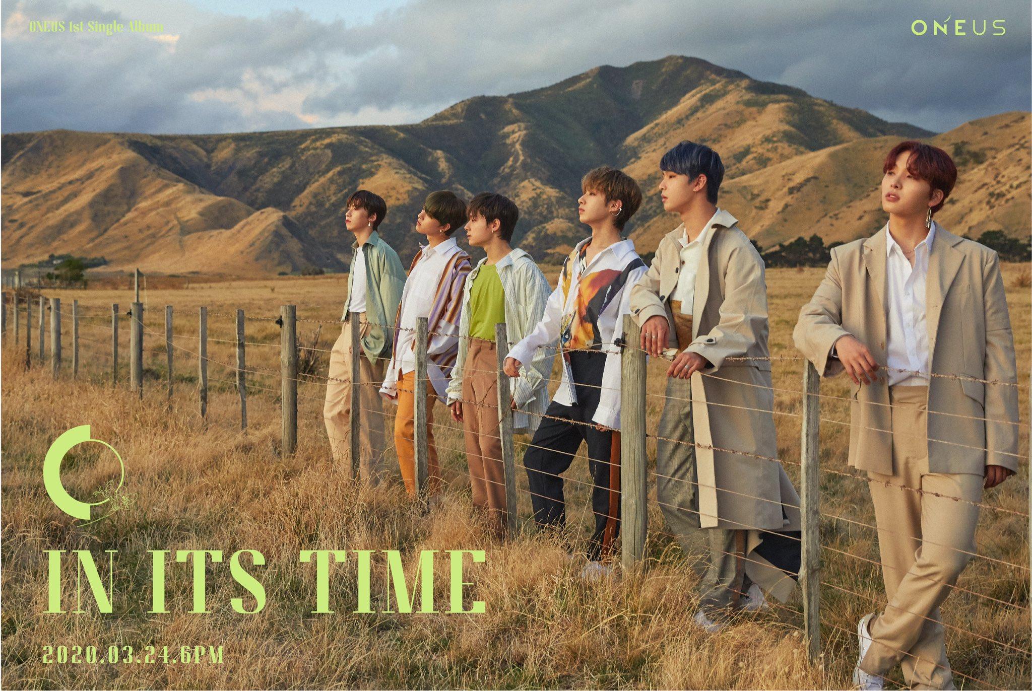 24일(화), 🌏원어스 첫 번째 싱글 앨범 'IN ITS TIME' 발매🌏 | 인스티즈