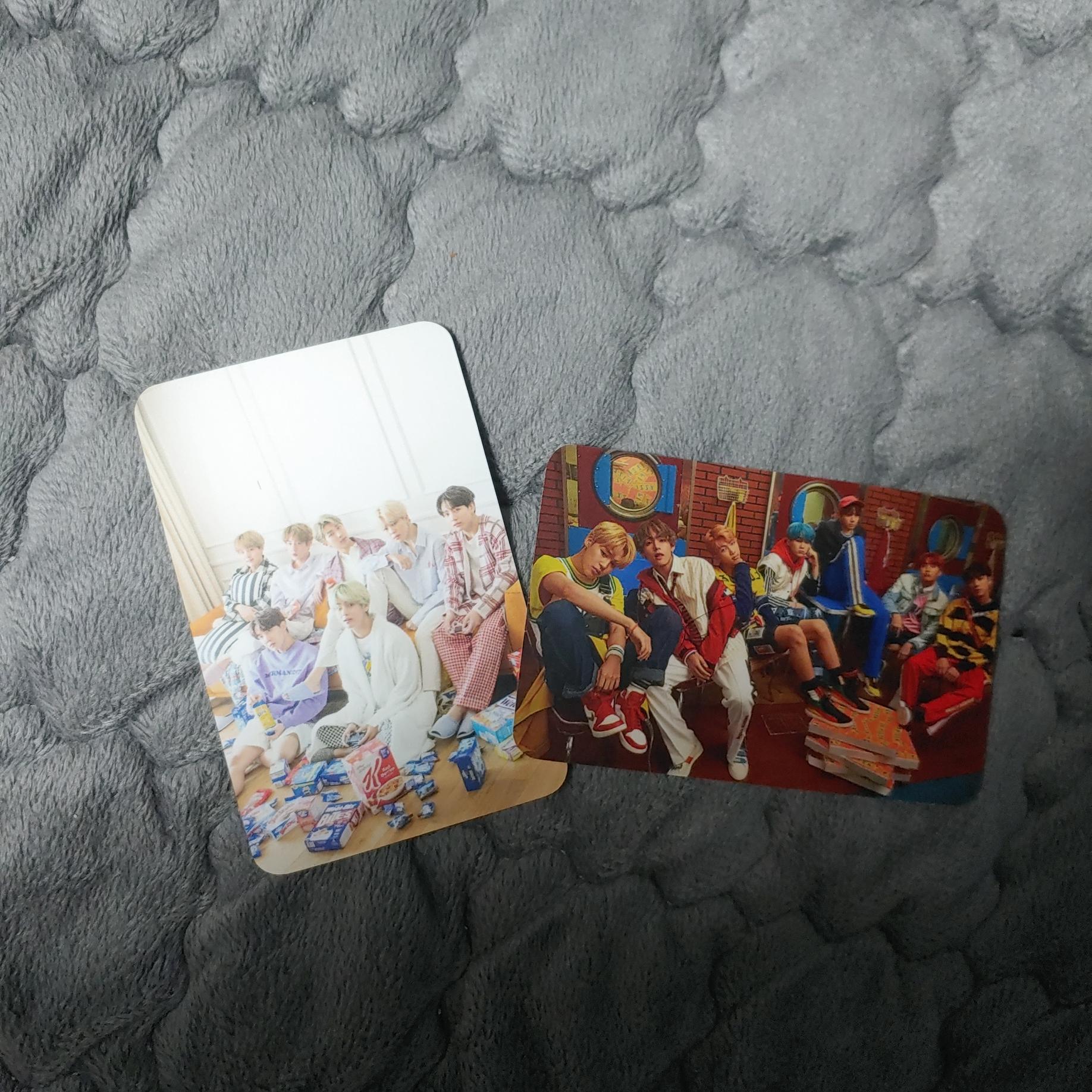 방탄소년단) 렌티큘러+엽서+포카+밴드 | 인스티즈