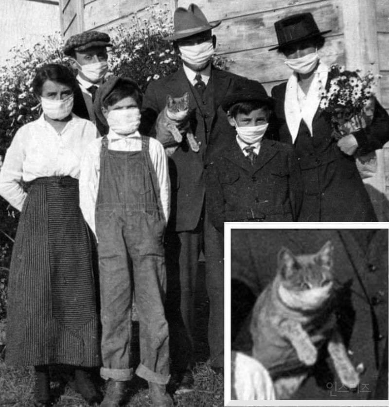 1918년 스페인 독감 때 사진 | 인스티즈