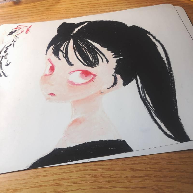 오일파스텔 사서 그린 그림들!! | 인스티즈