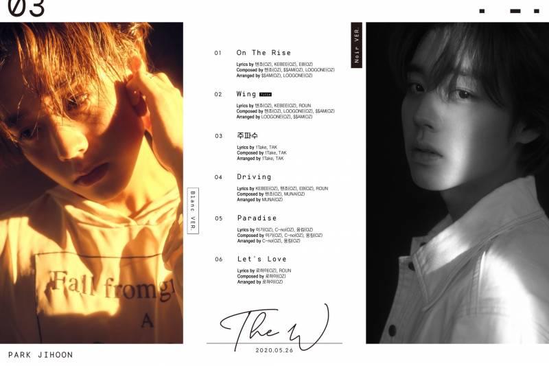 26일(화), 박지훈 3rd MINI AIBUM [TheW] 발매💚💛💖 | 인스티즈