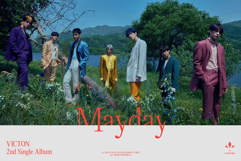 2일(화), 💙빅톤 두번째 싱글 Mayday 발매💛 | 인스티즈