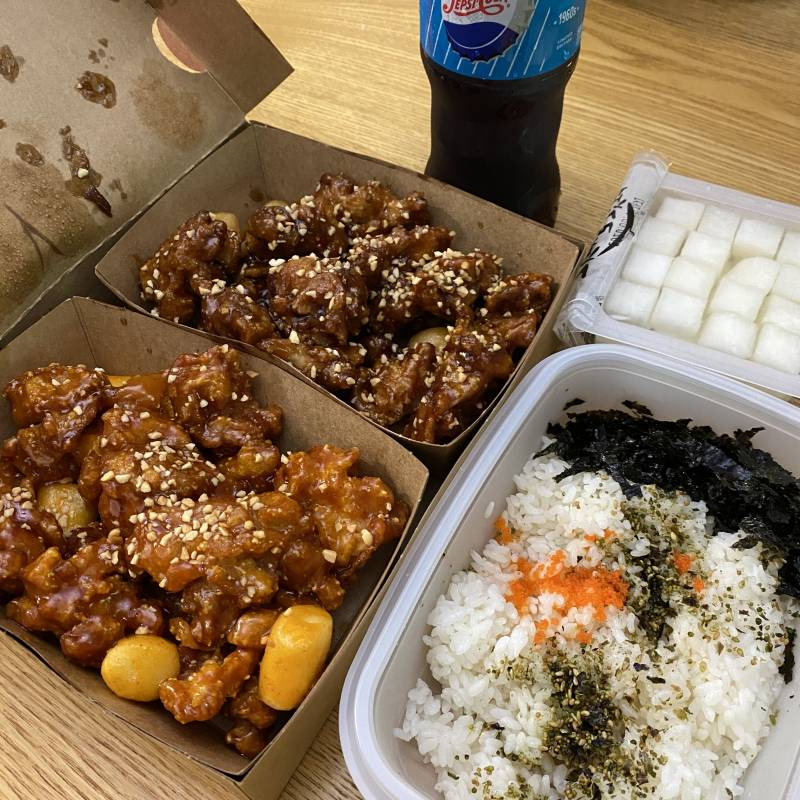 점심에 먹은 가마로 닭강정 40 💛 | 인스티즈