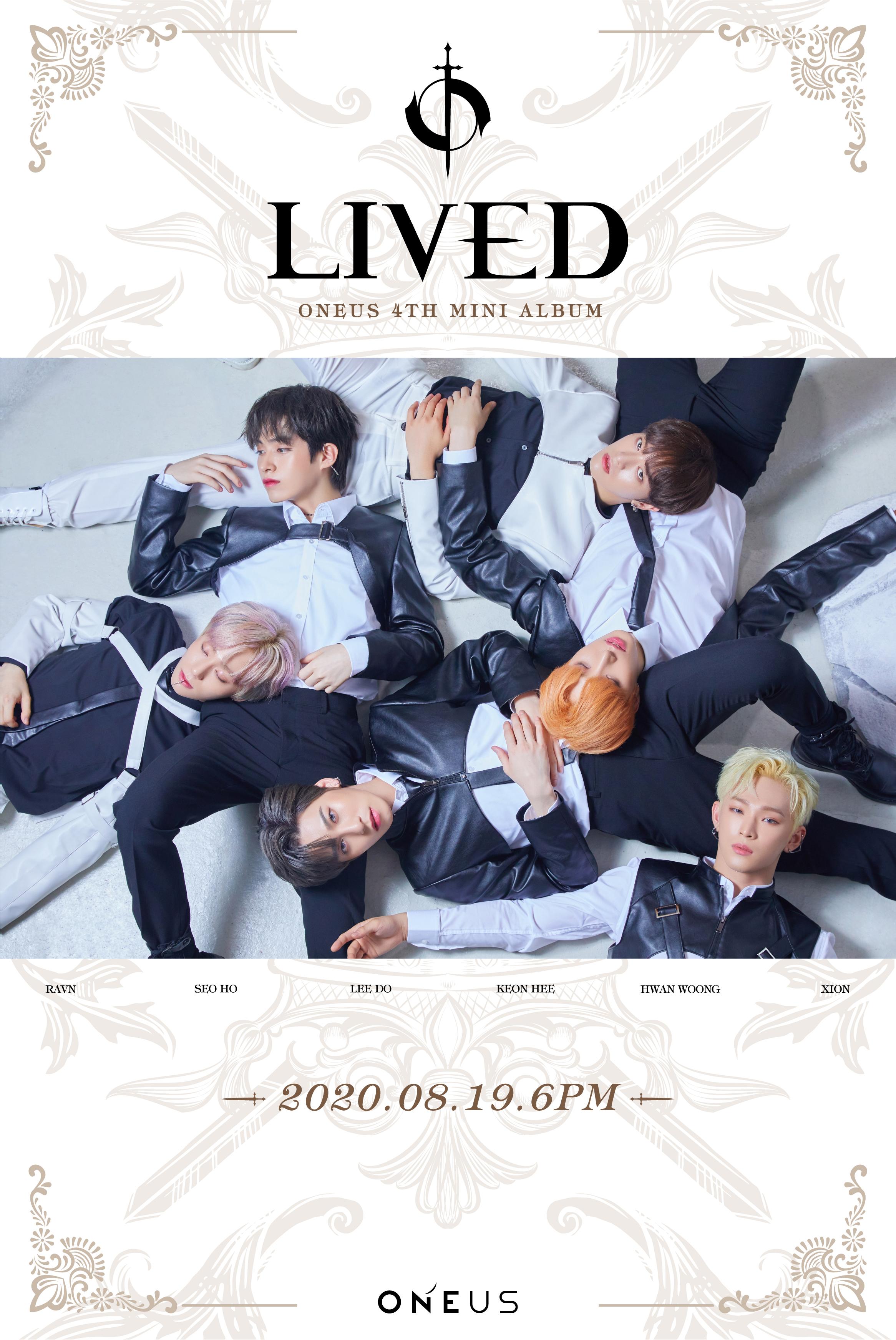 19일(수), 🌏원어스 4TH MINI ALBUM 'LIVED' 발매🌏 | 인스티즈