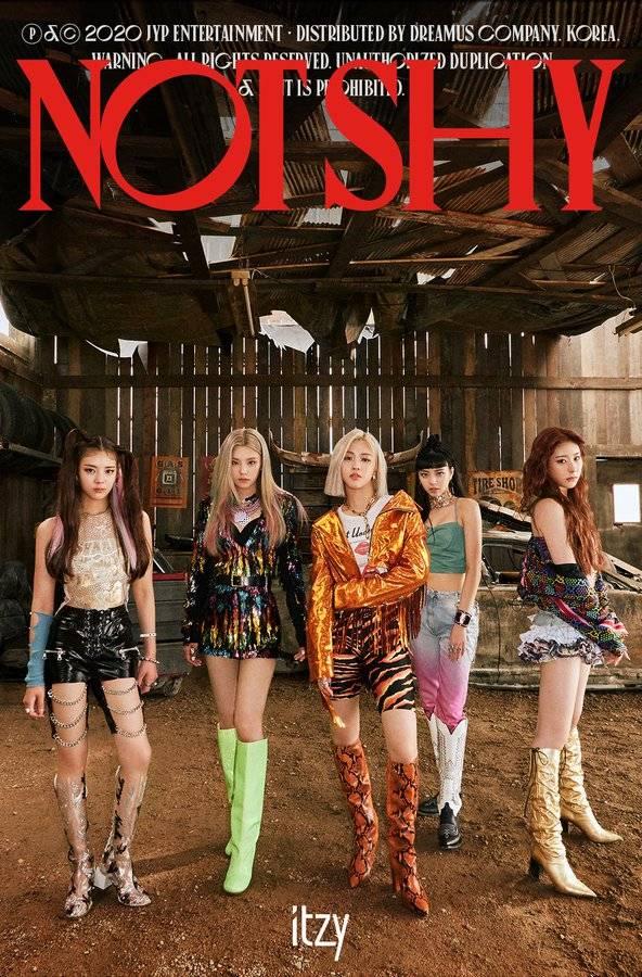 17일(월), 👑 ITZY 세 번째 미니앨범 'NOT SHY' 발매 👑 | 인스티즈