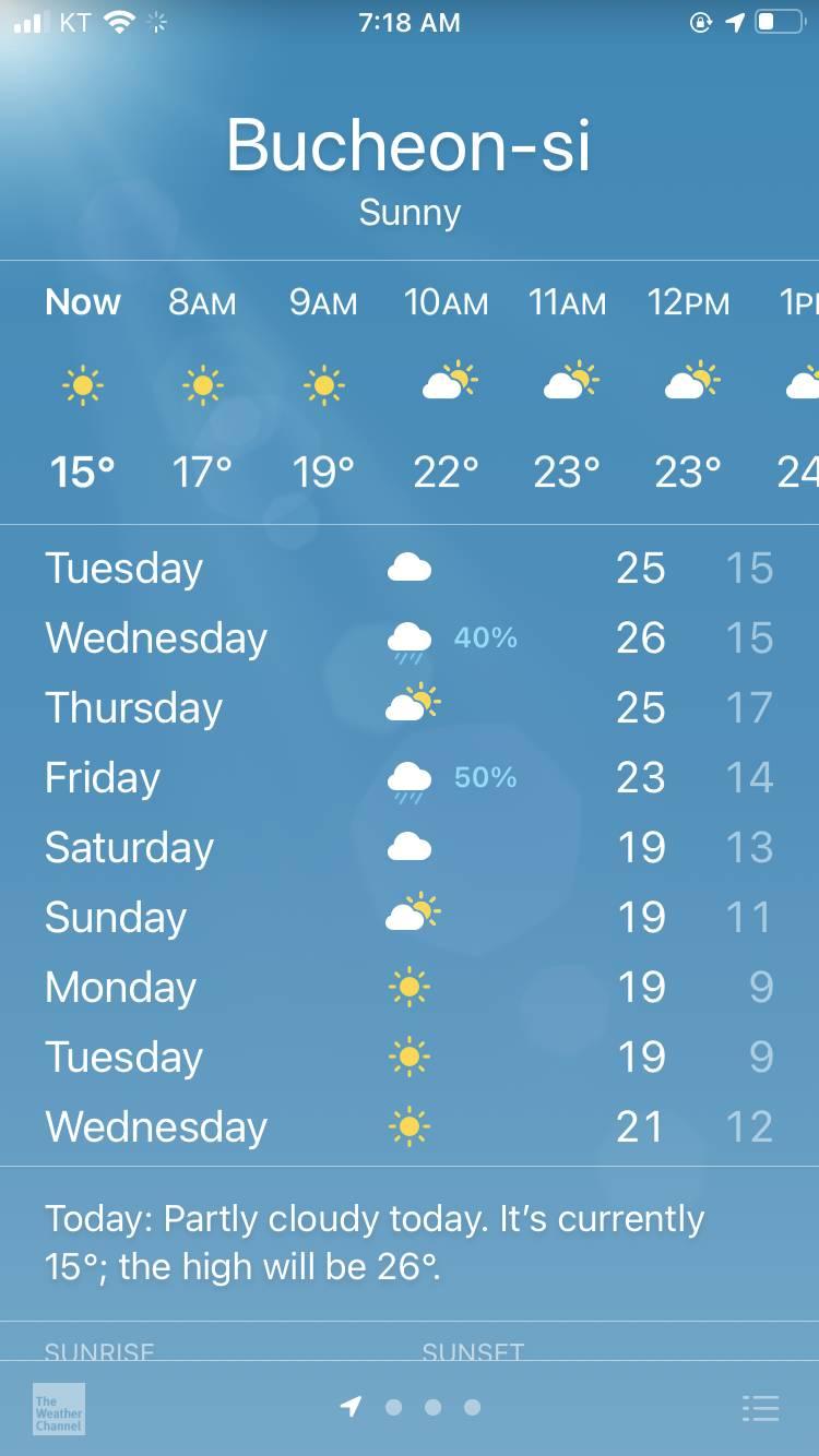 와 다음주 기온 실허ㅏ야??? | 인스티즈