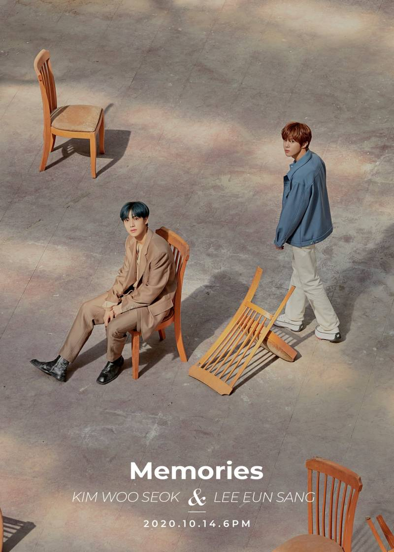 14일(수), 🦋김우석 & 이은상 'Memories' 디싱발매🦋 | 인스티즈