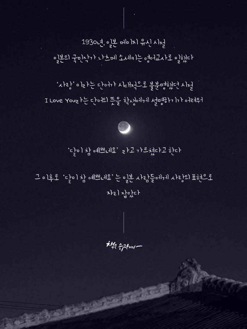달이 참 예쁘네 하면 익들은 무슨 생각들어? | 인스티즈