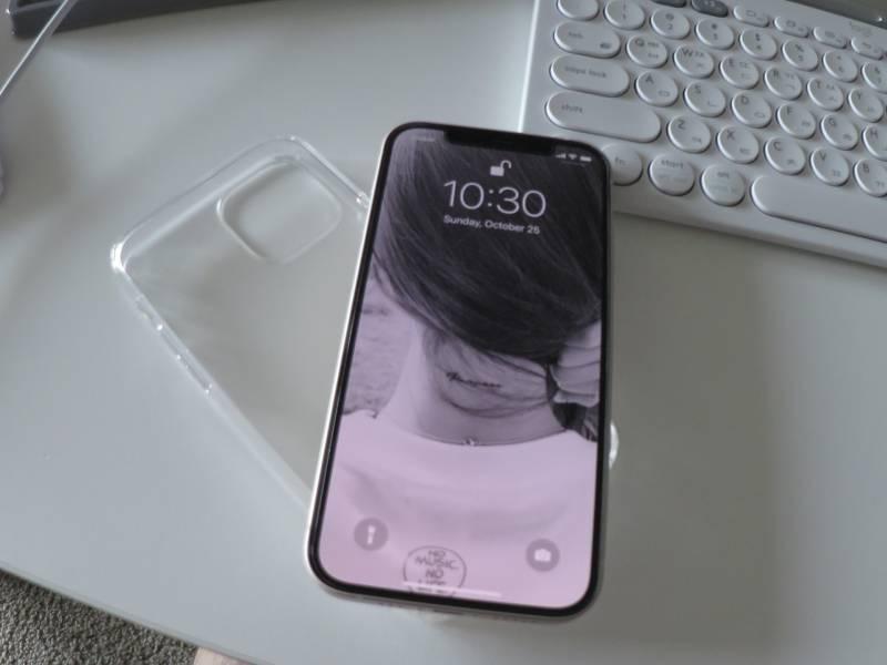 아이폰 12 화이트 실물~🤍   인스티즈