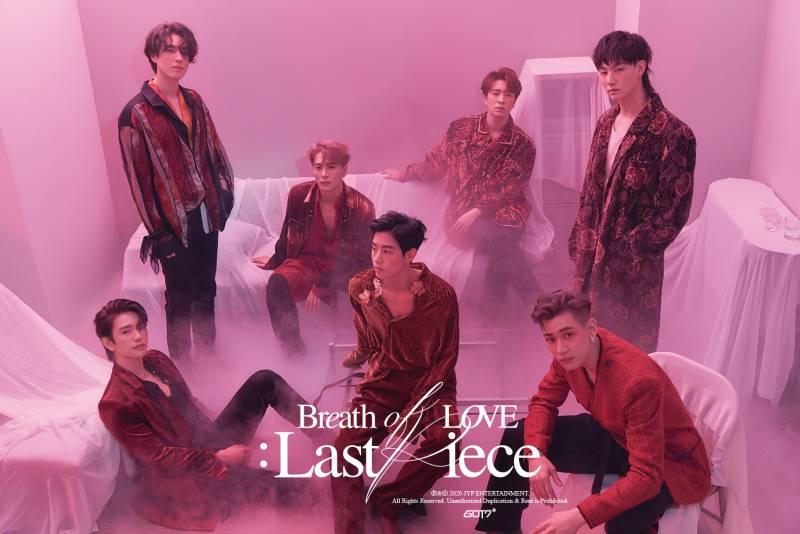 30일(월), 갓세븐 정규4집 <Breath of Love : Last Piece> 발매🐥💚 | 인스티즈