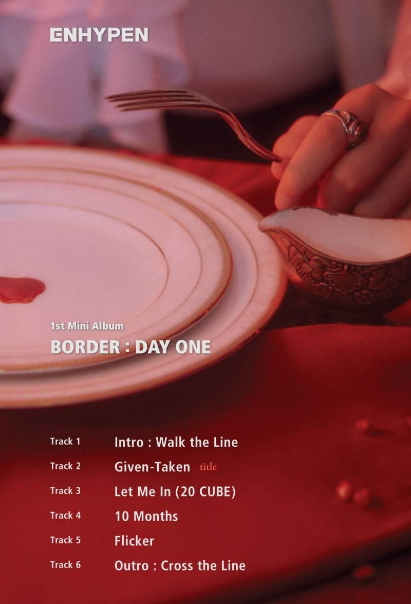 30일(월), 엔하이픈 BORDER : DAY ONE 발매➖🖤🌿 | 인스티즈