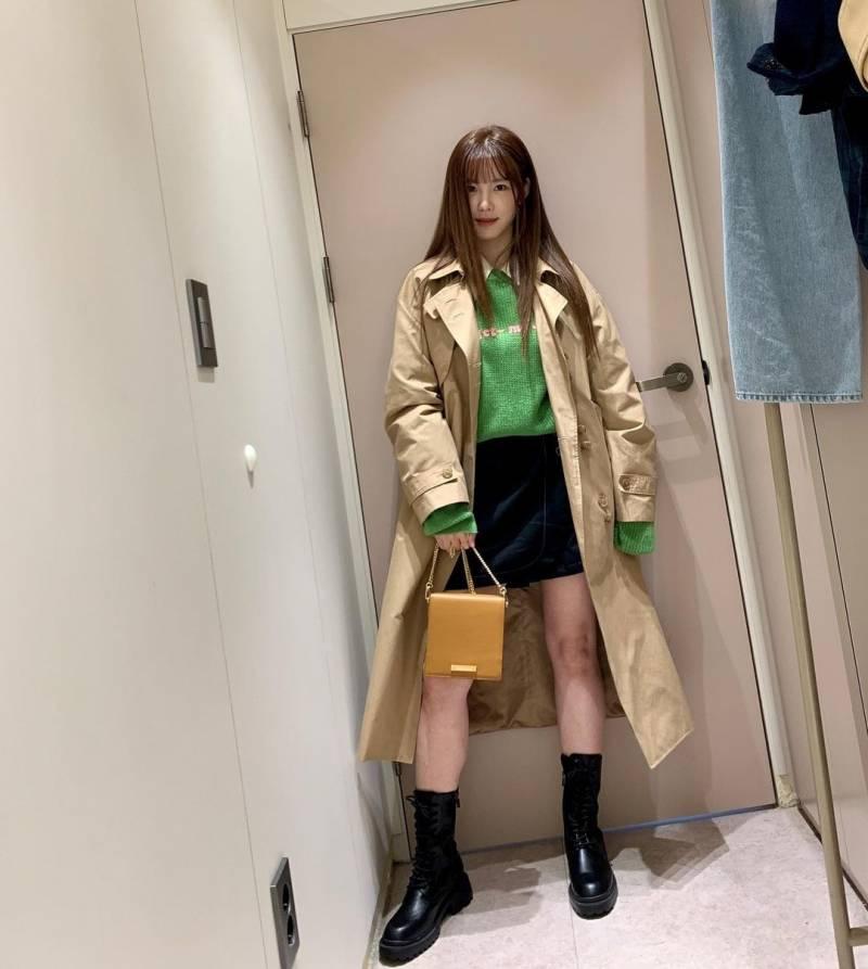 최근 전효성 인스타 사복.........jpg | 인스티즈