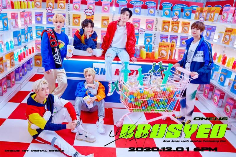1일(화), 원어스 첫 디지털 싱글 '뿌셔' 발매🌏❤️   인스티즈