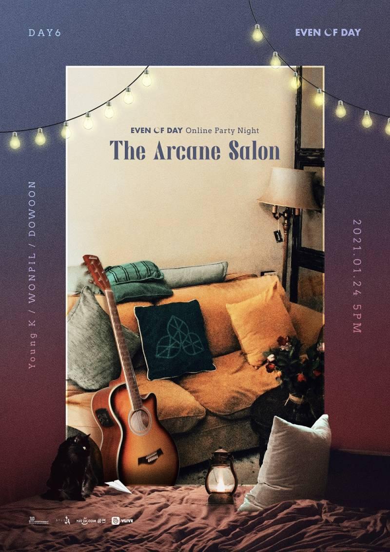 24일(일), 🍋데이식스 이오데🦊🐰🐶 <The Arcane Salon>🔮 Online Party Night🚪 | 인스티즈